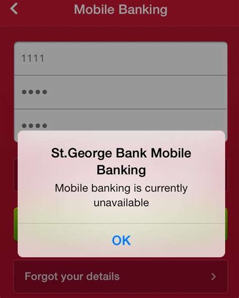 st george bank banking st george suffers mobile banking outage software