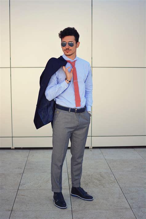 light grey dress pants men s navy double breasted blazer light blue gingham