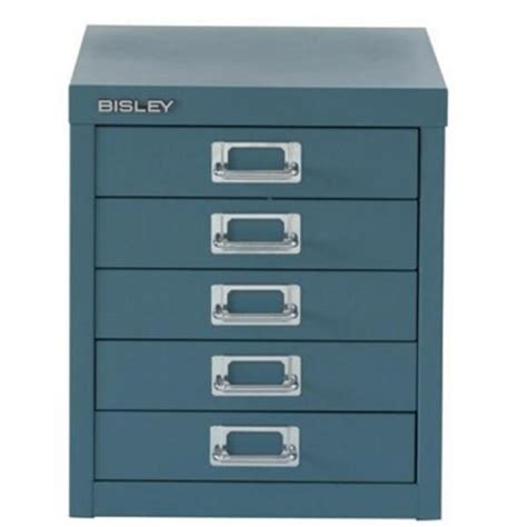 Multi Drawer by Bisley Soho H325mm Multi Drawer 5 Steel Filing Cabinet