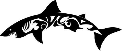shark line drawing clipart best