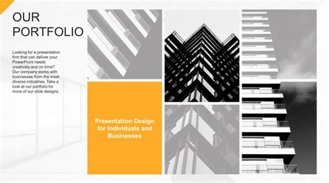 powerpoint design portfolio download free modern corporate slide templates slidestore