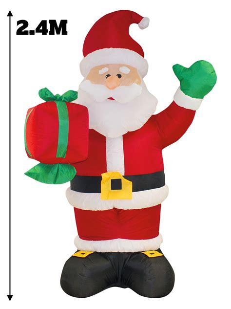8ft giant inflatable christmas decoration outdoor snowman