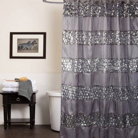 popular bath shower curtain popular bath sinatra silver collection 70 quot x 72 quot bathroom