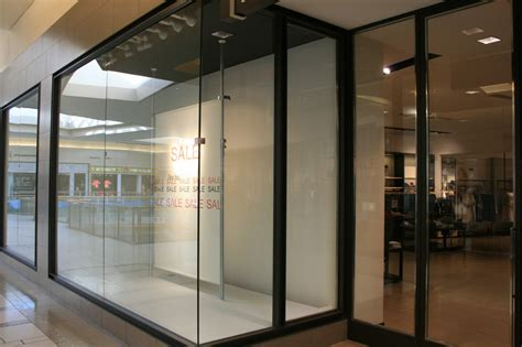 Shop Front Glass Doors Mall Storefront Windows Allservices Frameless Glass Company