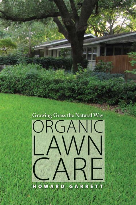 organic lawn care growing grass  natural   howard