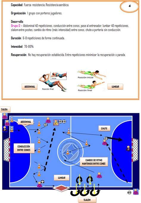 definicion de futbol sala f 250 tbol sala dise 241 emos ejercicios integrados