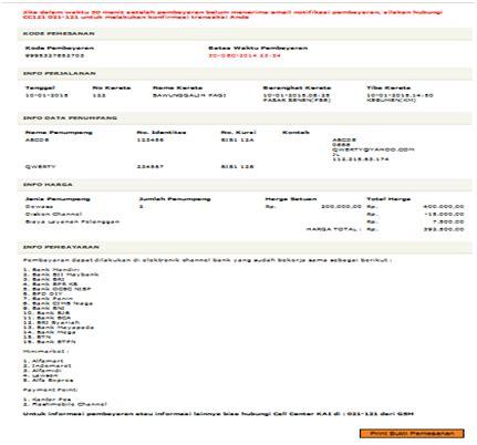 Nur Fitria: E commerce : Tiket Kereta Api Indonesia (Persero)