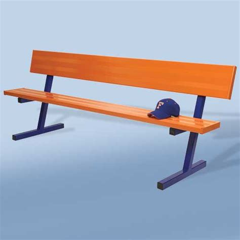 player benches bleachers benches