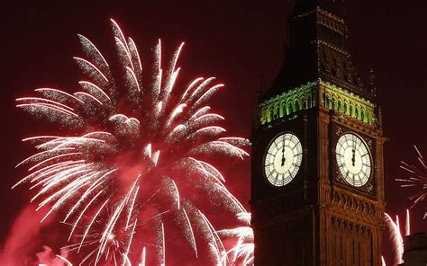 years fireworks celebration  midnight big ben clock  london wallpaper hd  desktop