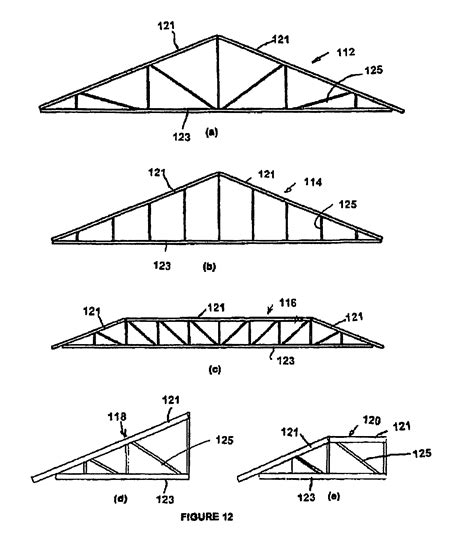 light gauge steel truss system patent us8726606 light steel trusses and truss systems