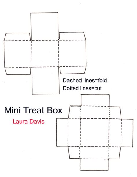 templates for mini boxes the paper poppy may 2010