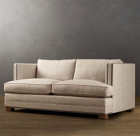 restoration hardware easton sofa 96 quot easton upholstered sofa sofas restoration hardware