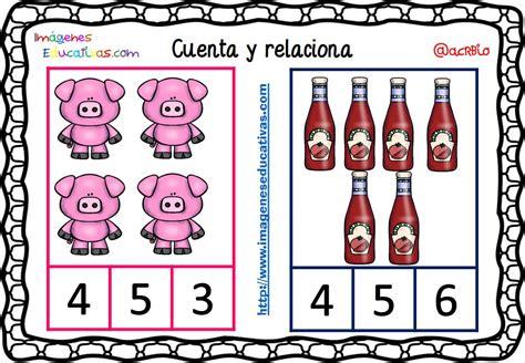 imagenes educativas cuenta y relaciona fichas para aprender a contar 11 imagenes educativas