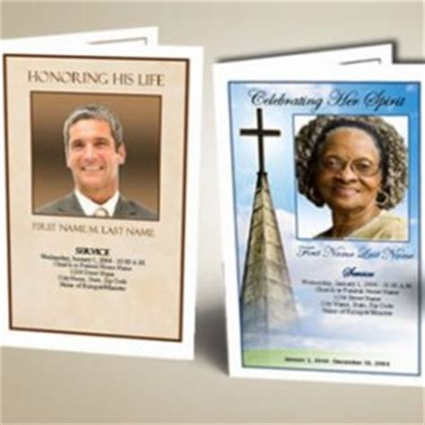 make your own funeral cards memorials funeral and cremation 187