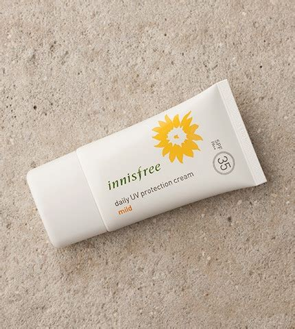 Nnisfree Uv Protection mẫu thử kem chống nắng innisfree daily uv protection