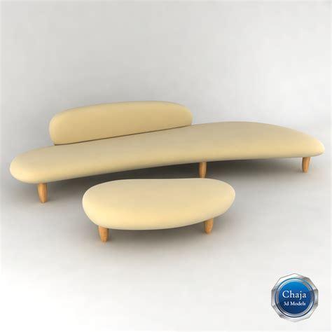 isamu noguchi sofa noguchi sofa freeform sofa ottoman rove concepts thesofa