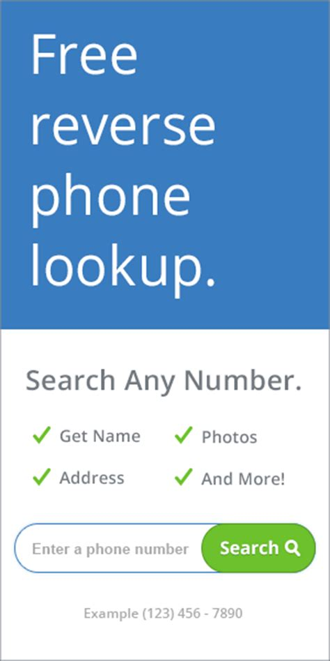 Free Phone Number Lookup How To Find Out If Someone Is Using Voice Best