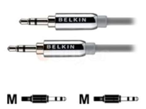 Mini Stereo 35 Mm 2136379belkin ministereo cable for iphone miniphone stereo