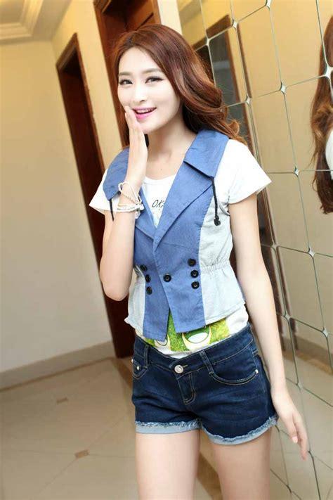 baju vest wanita korea terbaru 2015 model terbaru jual murah import kerja