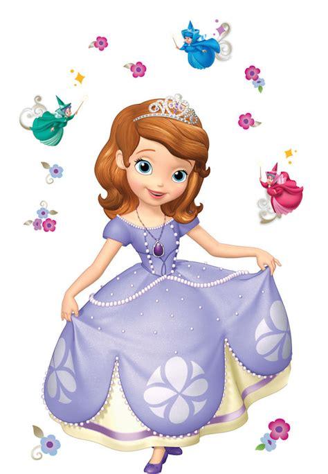princess sofia giant peel stick decal