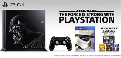 star wars battlefront deluxe edition ps4 with han solo sony playstation 4 1tb console limited star wars darth