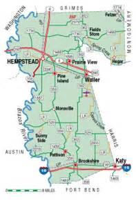 waller map waller county almanac