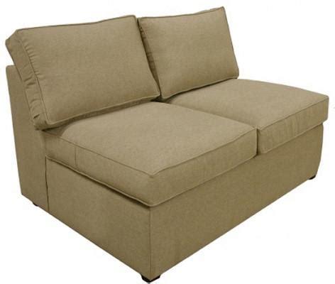 Armless Sofa Sleeper by Sleeper Sofas Armless