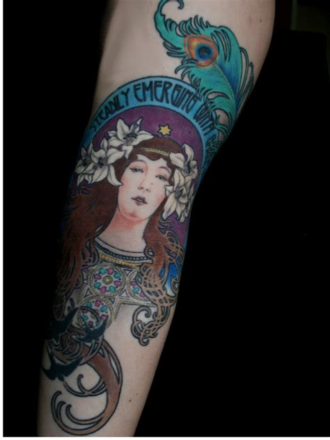 53 best images about alphonse mucha tattoos on pinterest