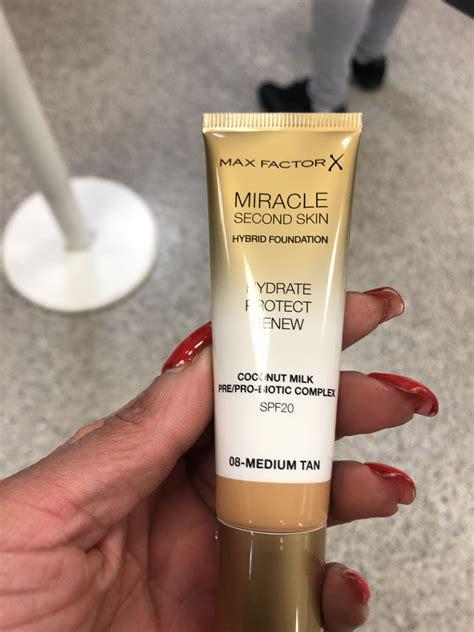 max factor miracle  skin reviews  foundation