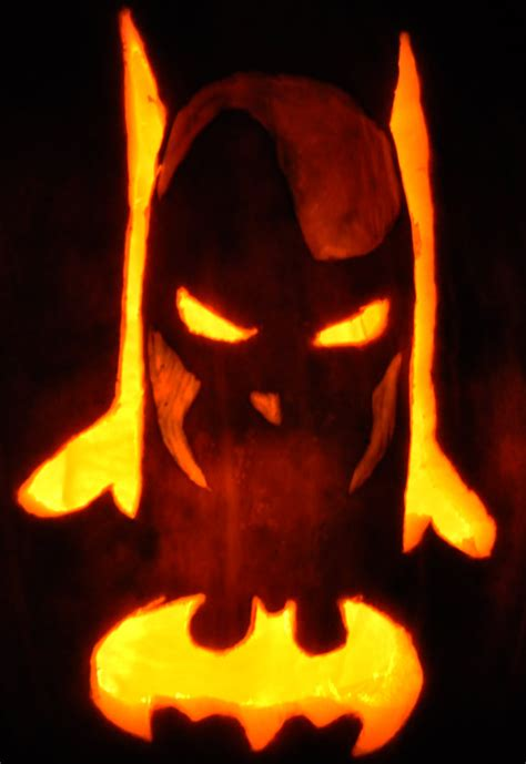 batman pumpkin template noel s 2009 pumpkins