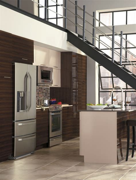 exotic kitchen cabinets pamli s euro flair exotic wood grain looks and sweep of
