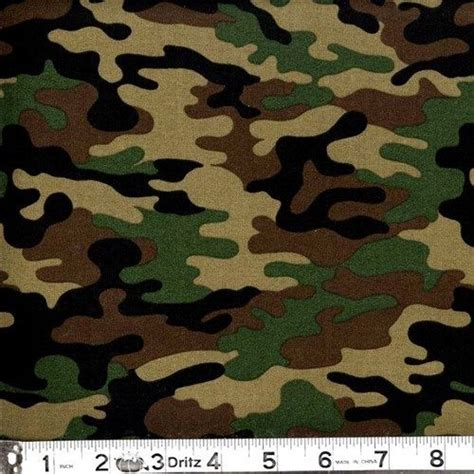 army pattern green kickin camo army colored camouflage cotton fabric fat