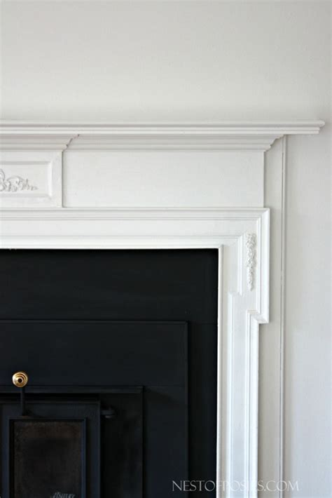 Can You Paint A Fireplace Insert by Wood Burning Insert Fireplace Makeover