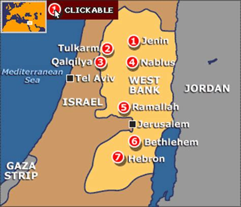 middle east map west bank news israel s west bank operation