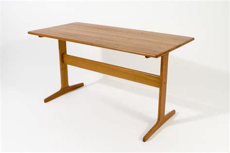 mid century modern trestle table modern trestle table teak classics