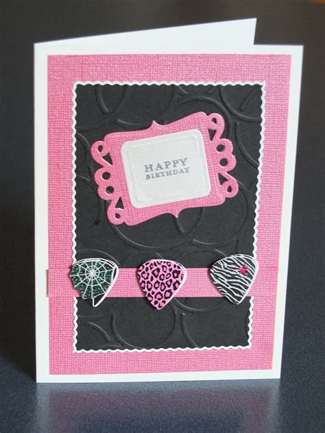 Handcraft Card - cool cards for those difficult to teenagers