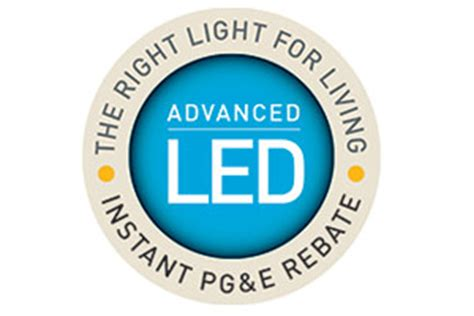 Pge Lighting Rebates by 300 215 200 Led Lighting Instant Pg E Rebate Pg E Currents