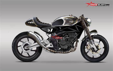 Foto Modif Cbr 250 Jadi Klasic 108 biaya modif vixion cafe racer modifikasi motor
