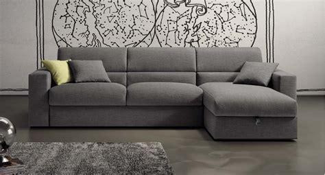 divano letto con penisola divano letto moderno con penisola contenitore e seduta