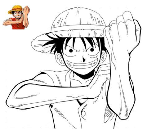 Imagenes Para Dibujar A Lapiz De One Piece   dibujos para pintar de one piece dibujos para colorear de