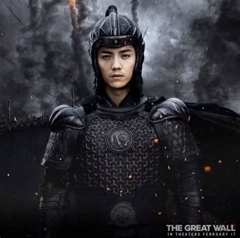 film china luhan luhan 鹿晗 as peng yong in the great wall movie will be