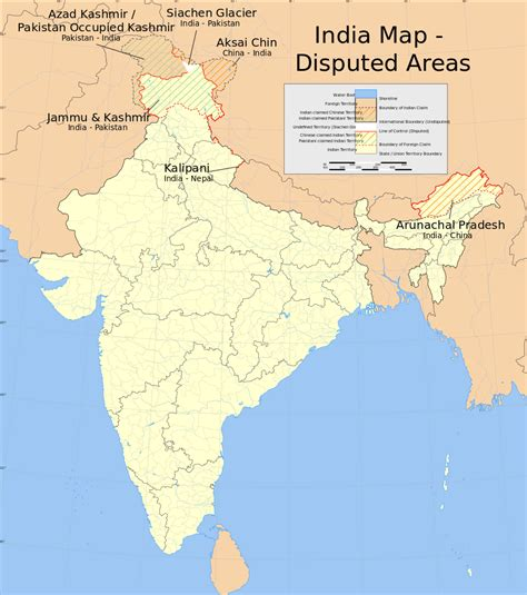 of india file india disputed areas map svg