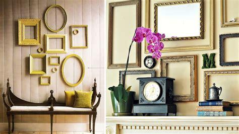 decorar con marcos vacios 10 formas decorar con cuadros y marcos de fotos