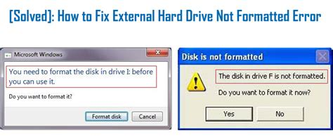 format external hard drive mac error could not unmount disk solved how to fix external hard drive not formatted error