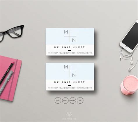 Card Templates Mse by Business Card Photoshop Template Business Card