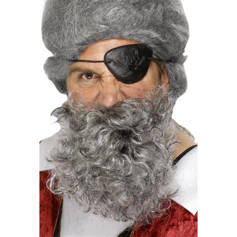 Sale Catokan Curly Hello Curly buccaneer pirate curly beard black brown grey adults fancy