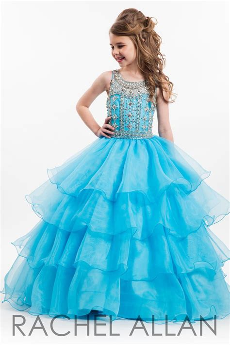Pretty Dress Formal Anak 2aloise allan 1647 sheer beaded gown novelty