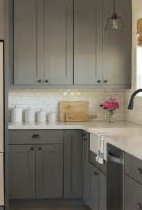 Gray Backsplash Kitchen 35 Ways To Use Subway Tiles In The Kitchen Digsdigs