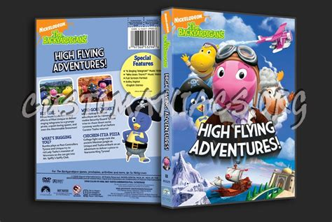the backyardigans high flying adventures dvd cover dvd