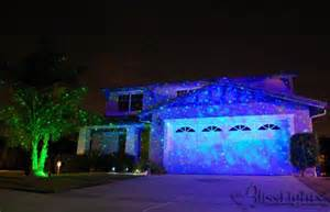 laser outdoor lights blue spright
